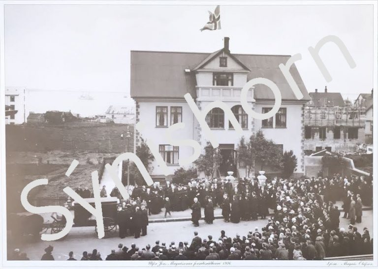 Útför Jóns Magnússonar forsætisráðherra 1926