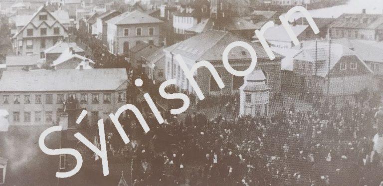 Stytta Jóns Sigurðssonar afhjúpuð 1911