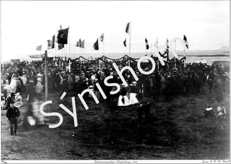 Þjóðminningardagur Reykvíkinga 1898