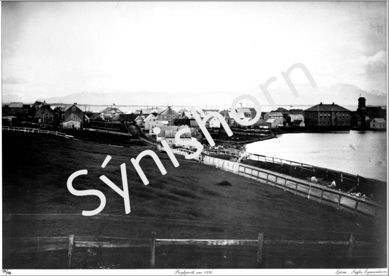 Reykjavík um 1890